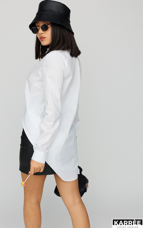 Платье-рубашка Джуди, Белый - фото 4