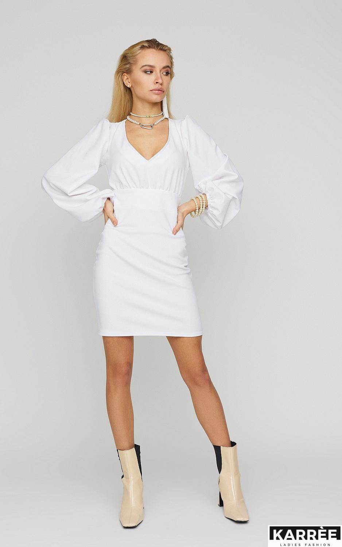 Платье Кармела, Белый - фото 1
