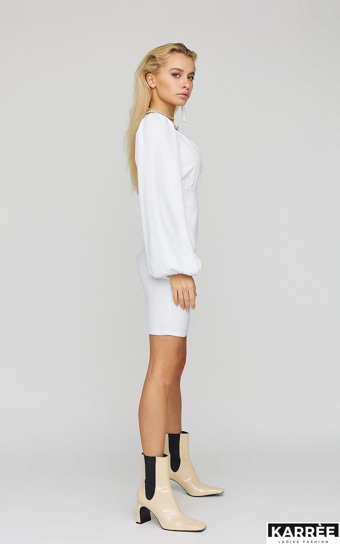 Платье Кармела, Белый - фото 2