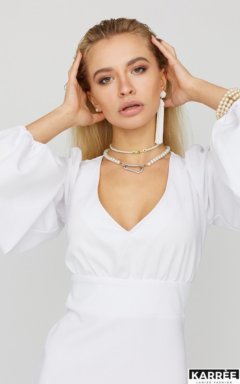 Платье Кармела, Белый - фото 4