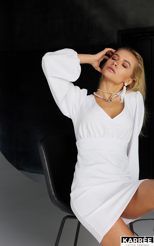 Платье Кармела, Белый - фото 5