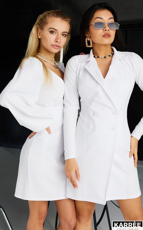 Платье Кармела, Белый - фото 6