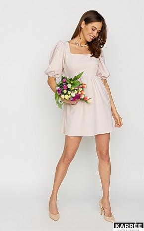 Платье Келли, Пудровый - фото 1