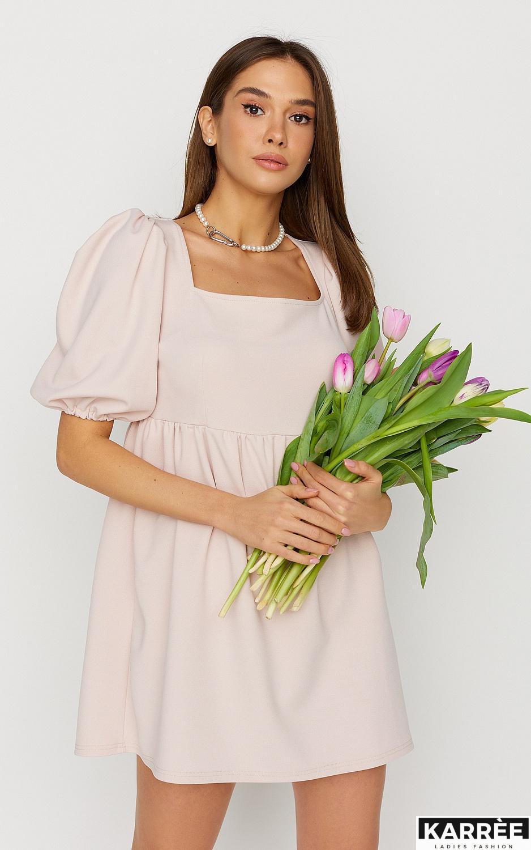 Платье Келли, Пудровый - фото 2