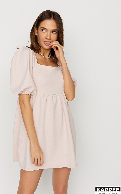 Платье Келли, Пудровый - фото 3