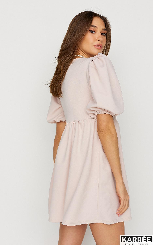 Платье Келли, Пудровый - фото 4