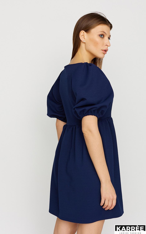 Платье Келли, Темно-синий - фото 3