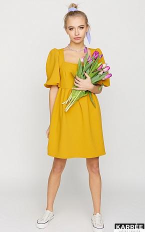 Платье Келли, Горчичный - фото 1