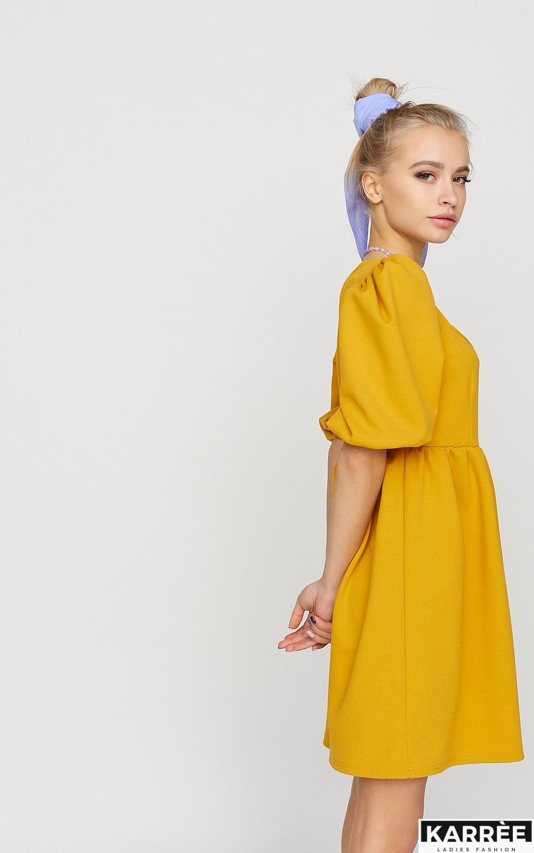 Платье Келли, Горчичный - фото 3