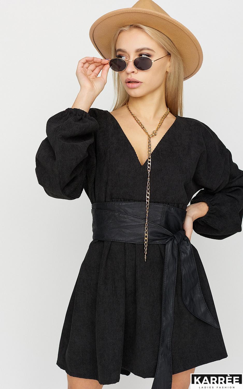 Платье Эмбер , Черный - фото 2