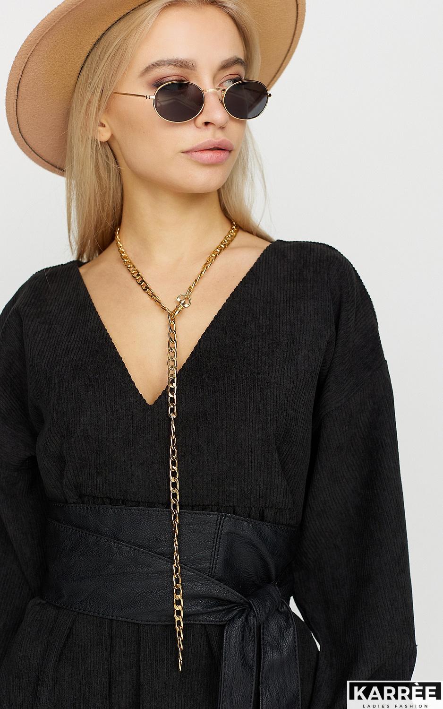 Платье Эмбер , Черный - фото 3