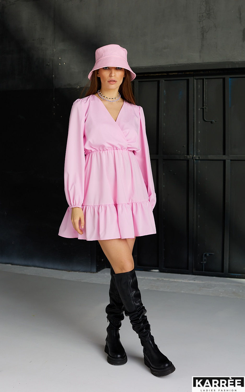 Платье Бет, Розовый - фото 4