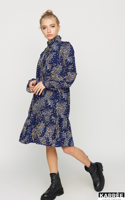 Платье Морин, Синий - фото 2