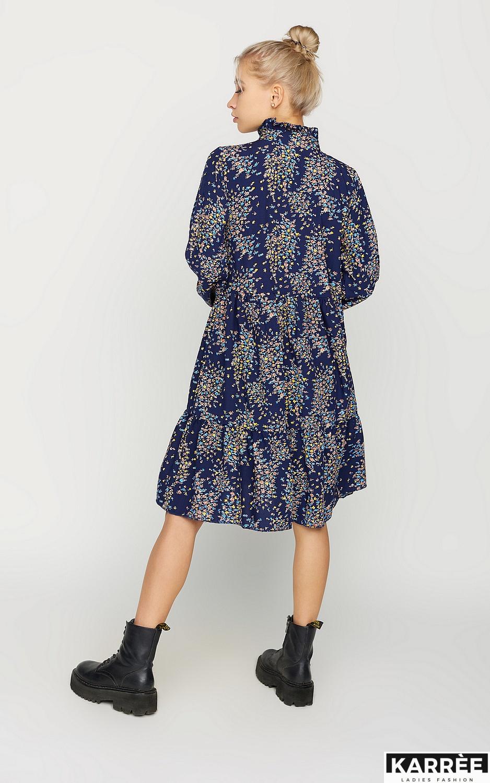 Платье Морин, Синий - фото 3