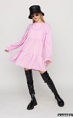 Платье Нэнси, Розовый - фото 1