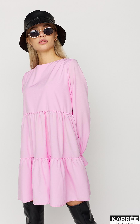 Платье Нэнси, Розовый - фото 2