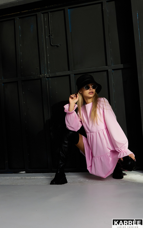 Платье Нэнси, Розовый - фото 4