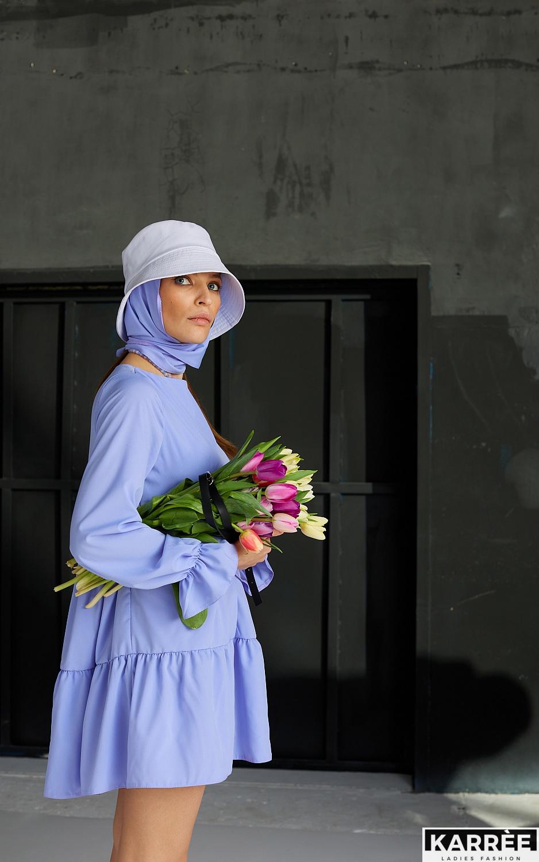 Платье Нэнси, Лиловый - фото 4