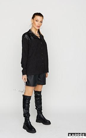 Рубашка Клэр, Черный - фото 1