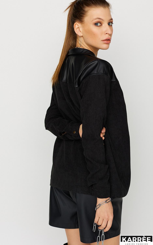 Рубашка Клэр, Черный - фото 3