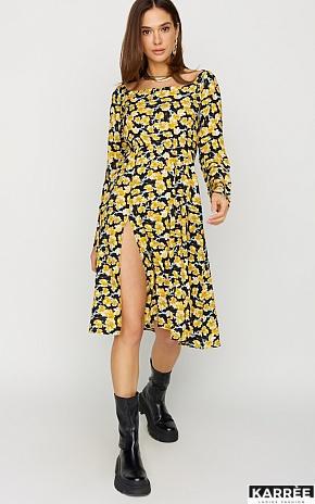 Платье Дорис, Черный - фото 1