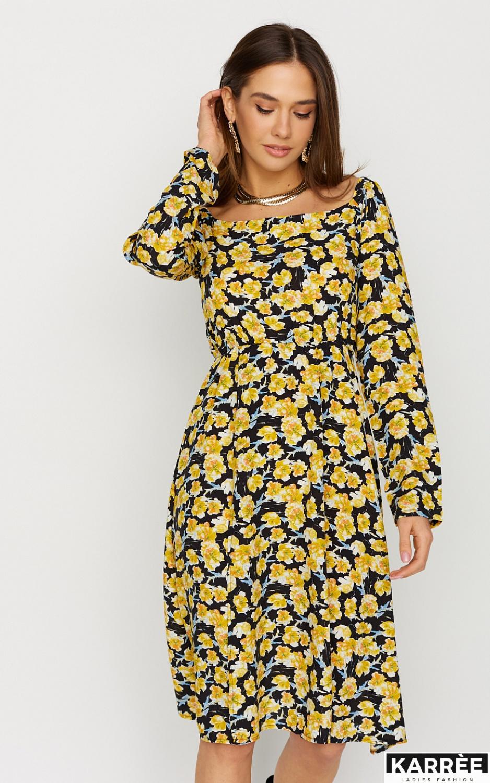 Платье Дорис, Черный - фото 3