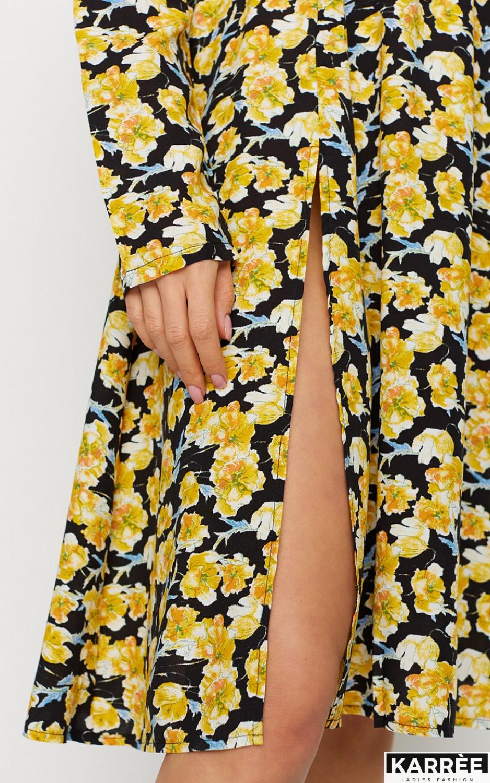 Платье Дорис, Черный - фото 5