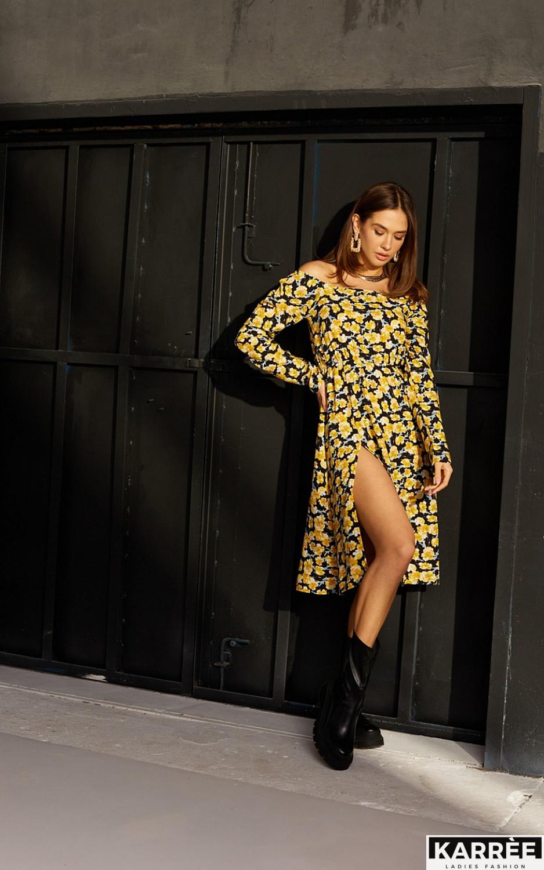 Платье Дорис, Черный - фото 7