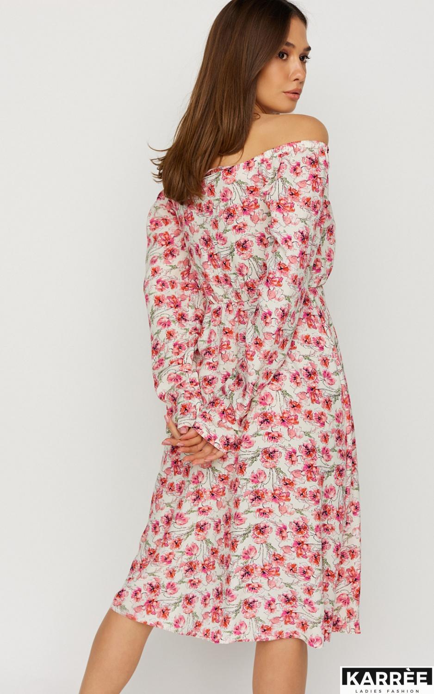 Платье Дорис, Белый - фото 4