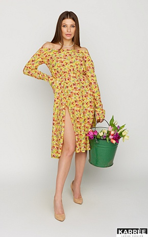 Платье Дорис, Желтый - фото 1