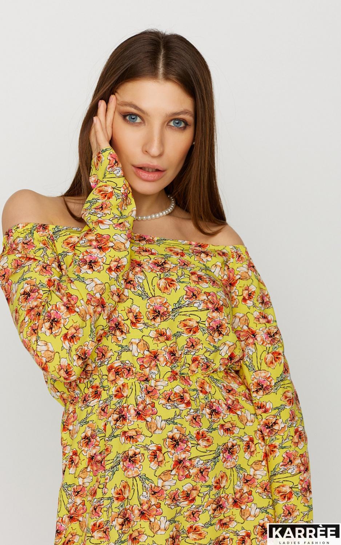 Платье Дорис, Желтый - фото 3