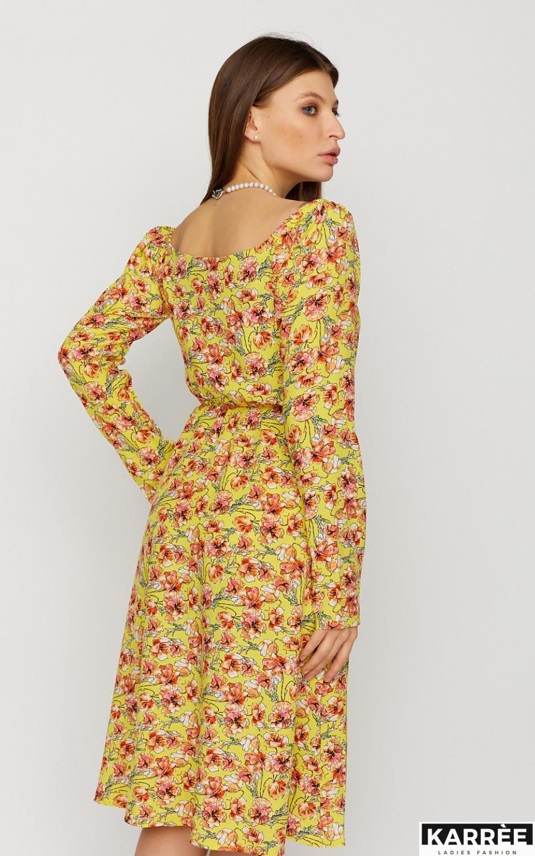 Платье Дорис, Желтый - фото 4