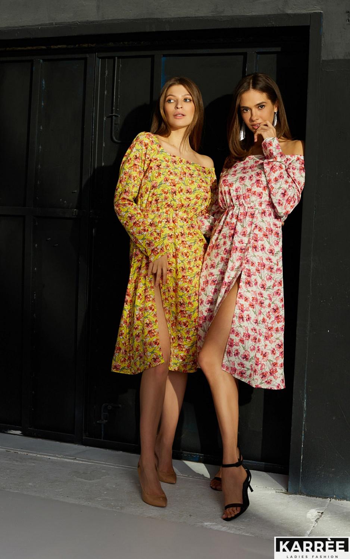 Платье Дорис, Желтый - фото 5