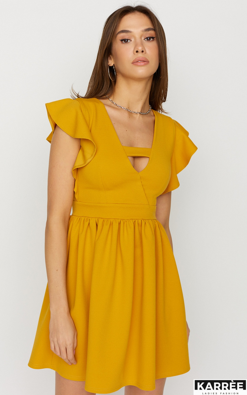 Платье Айрин, Горчичный - фото 2