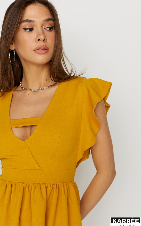 Платье Айрин, Горчичный - фото 3