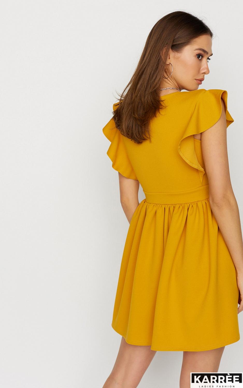 Платье Айрин, Горчичный - фото 4
