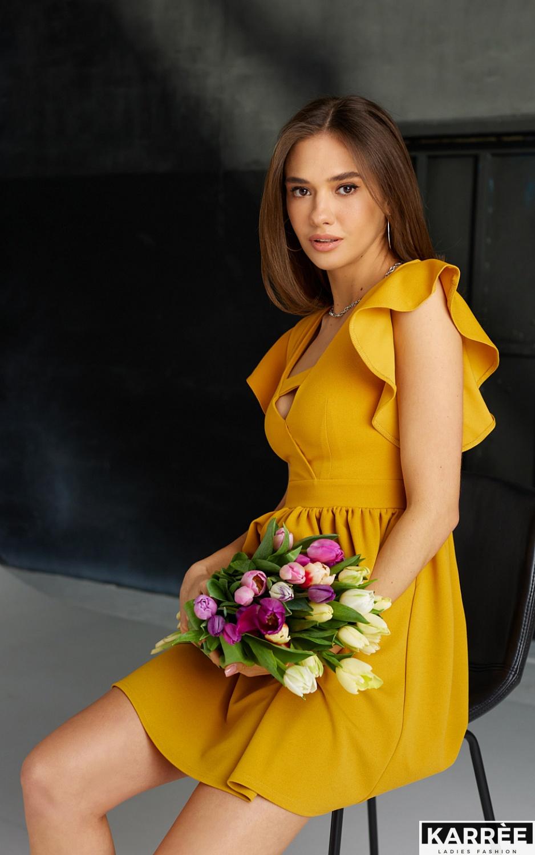 Платье Айрин, Горчичный - фото 5