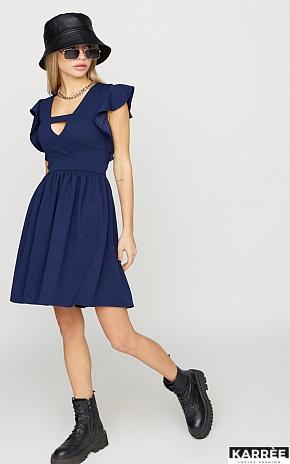 Платье Айрин, Темно-синий - фото 1