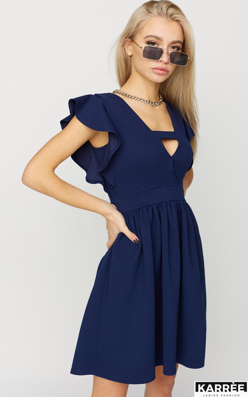 Платье Айрин, Темно-синий - фото 2