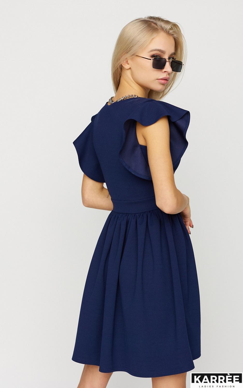 Платье Айрин, Темно-синий - фото 4