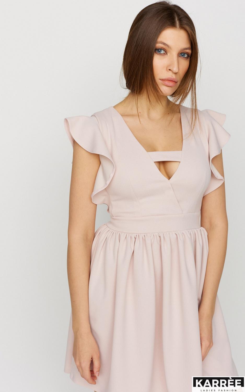 Платье Айрин, Пудровый