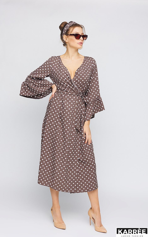 Платье Бетти, Шоколадный - фото 3