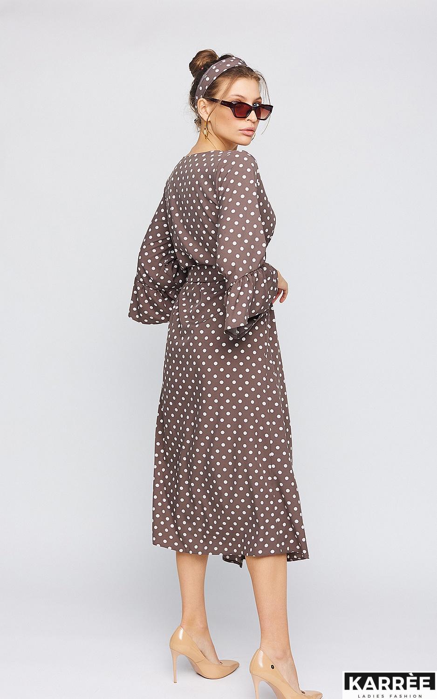 Платье Бетти, Шоколадный - фото 5