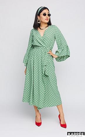 Платье Бетти, Оливковый - фото 1