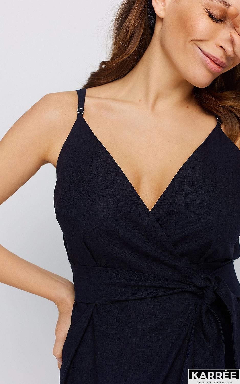 Платье Сенди, Темно-синий - фото 2