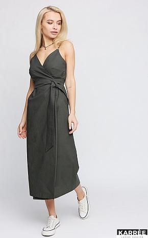 Платье Сенди, Хаки - фото 1