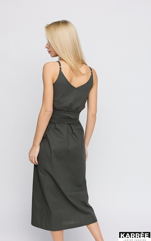 Платье Сенди, Хаки - фото 4