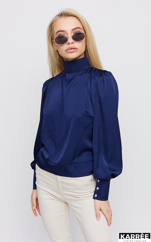 Блуза Ариэль, Синий - фото 2