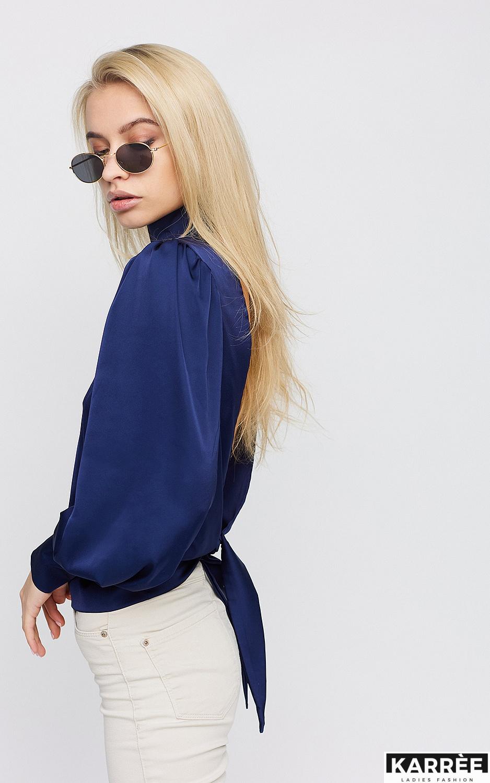 Блуза Ариэль, Синий - фото 3