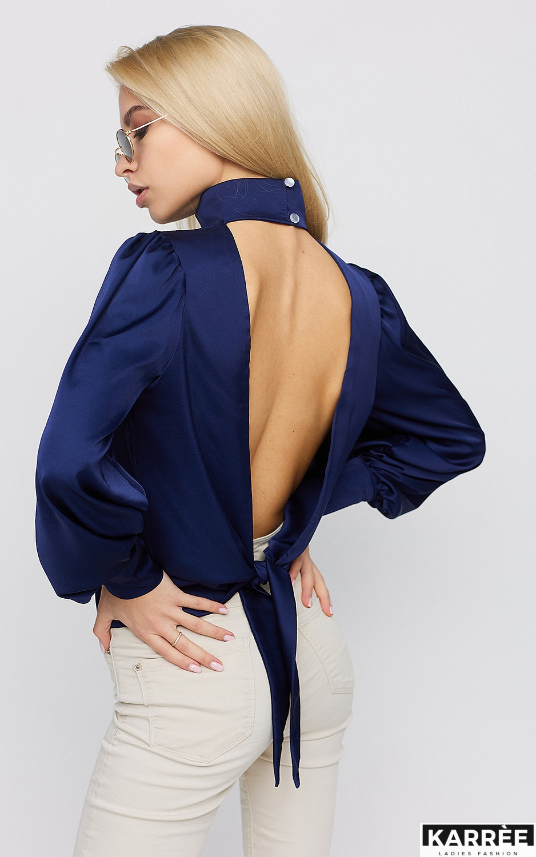 Блуза Ариэль, Синий - фото 4